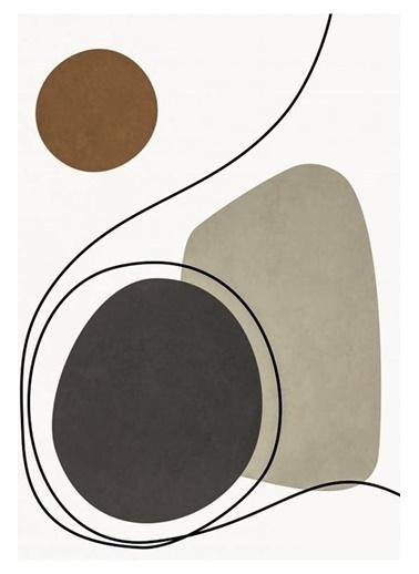 MarkaEv Canvas Modern Tablo 0183 Renkli